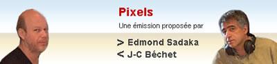 pixels Emission de radio Pixels
