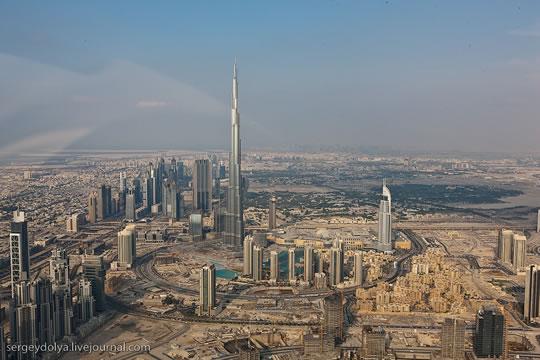 Dubai vu du ciel