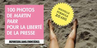 100 photos de Martin Parr pour la liberté de la presse