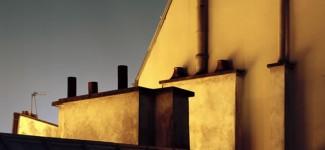 Alain Cornu sur les toits de Paris