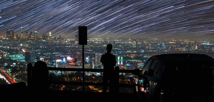 Skyglow astrophotographie et vidéo time-lapse