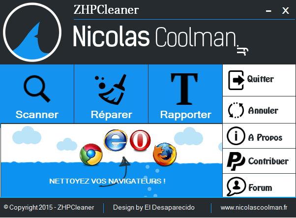 Top 5 des logiciels anti-malwares gratuits Zhpcleaner