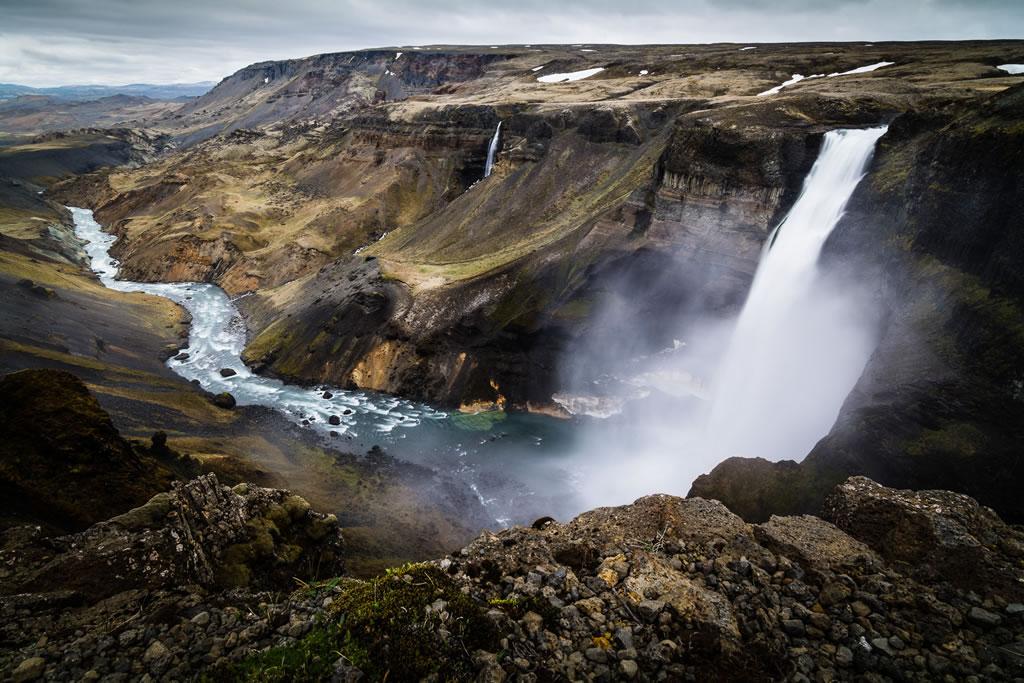 Top 10 des plus belles cascades d'Islande : Háifoss