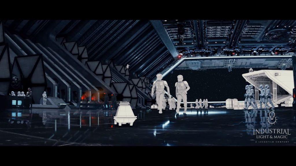 Les effets spéciaux de Star Wars Le Réveil de la Force