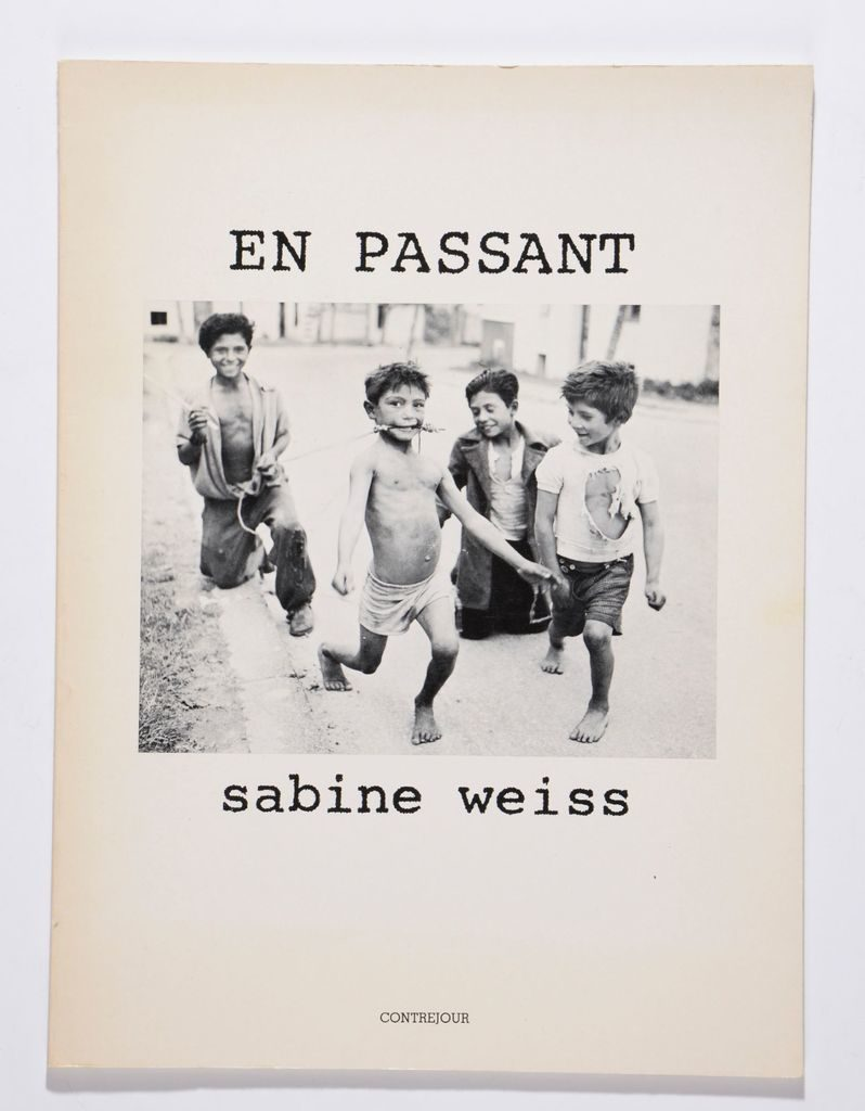 Sabine Weiss en 6 ouvrages