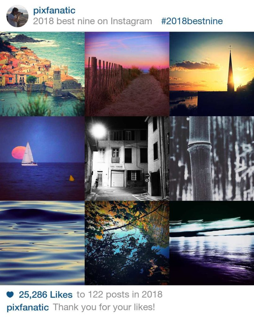 9 meilleures photos instagram