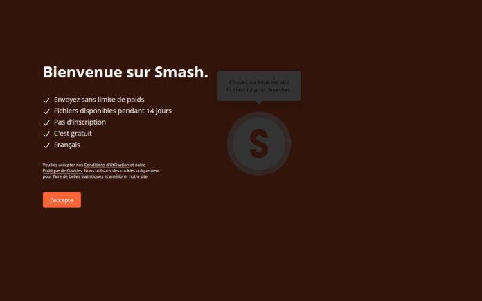 service de transfert de fichiers Smash
