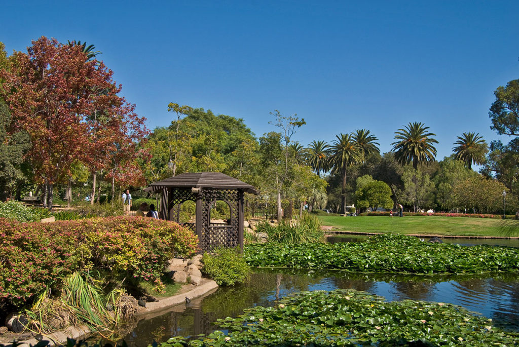 Californie : Alice Keck Park Memorial Gardens