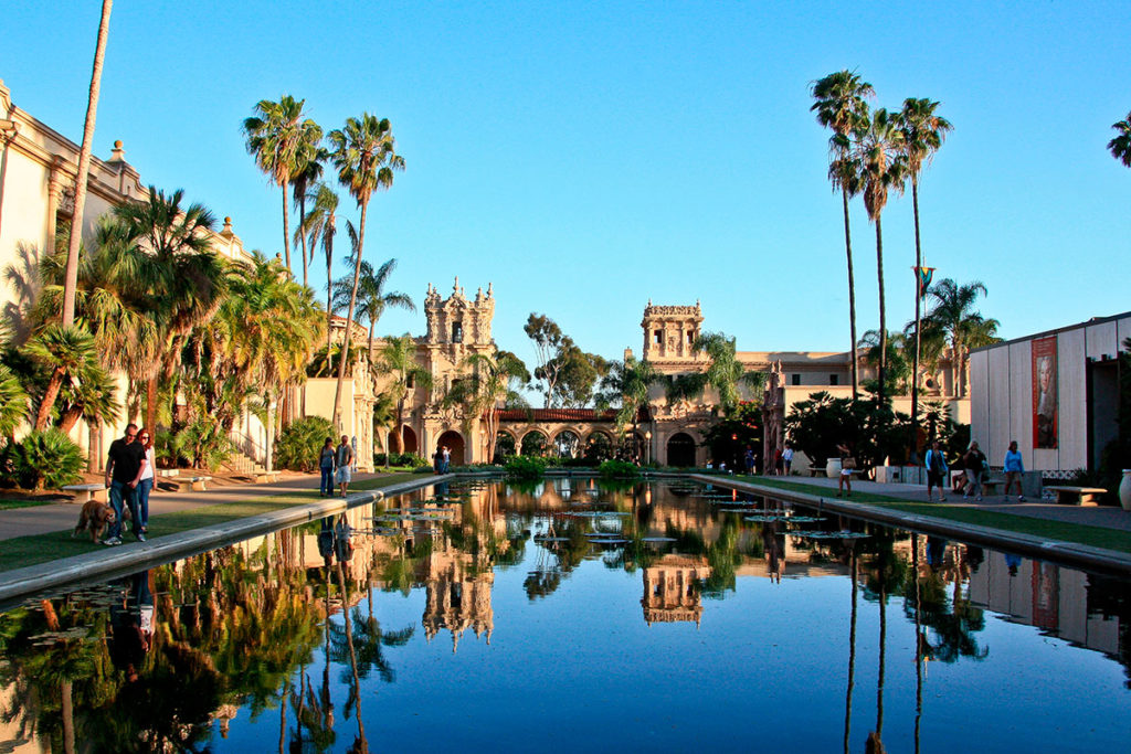 Californie : Balboa Park