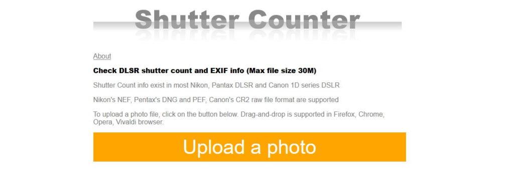Shutter Counter