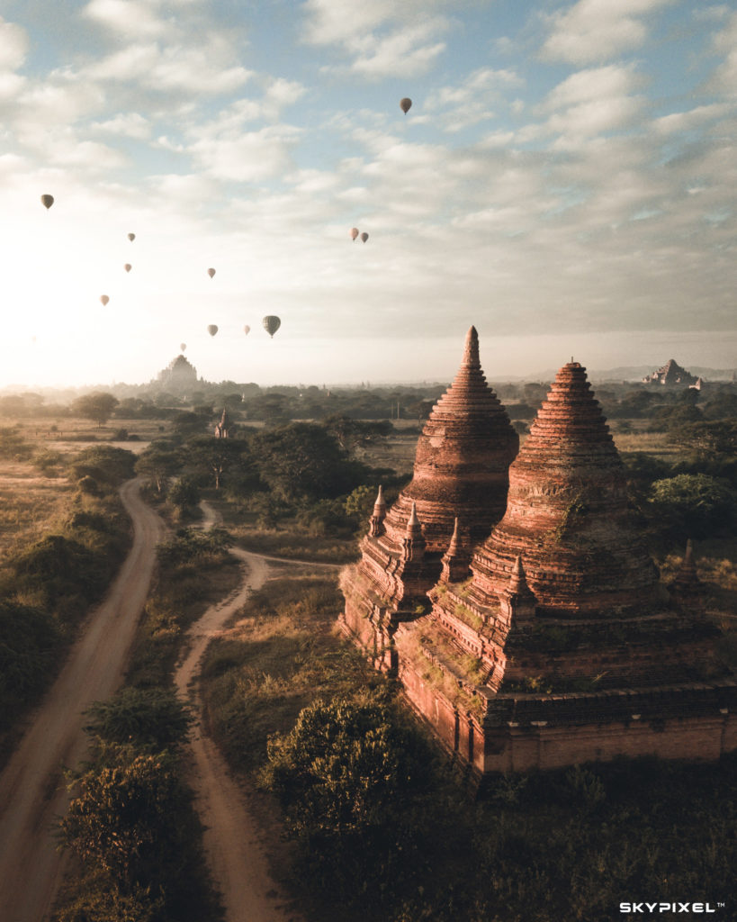 concours skypixel Bagan