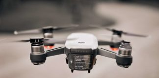 utilisation d'un drone