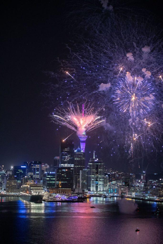 Nouvel An à Auckland