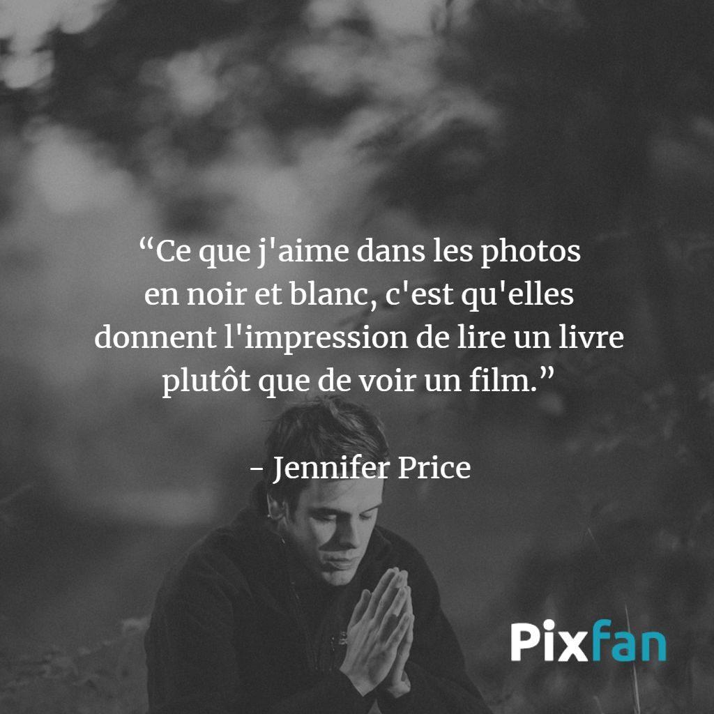 citations sur la photographie noir et blanc