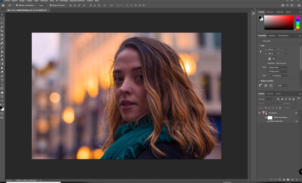 portrait composite
